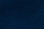 Indigo color nature woven texture background