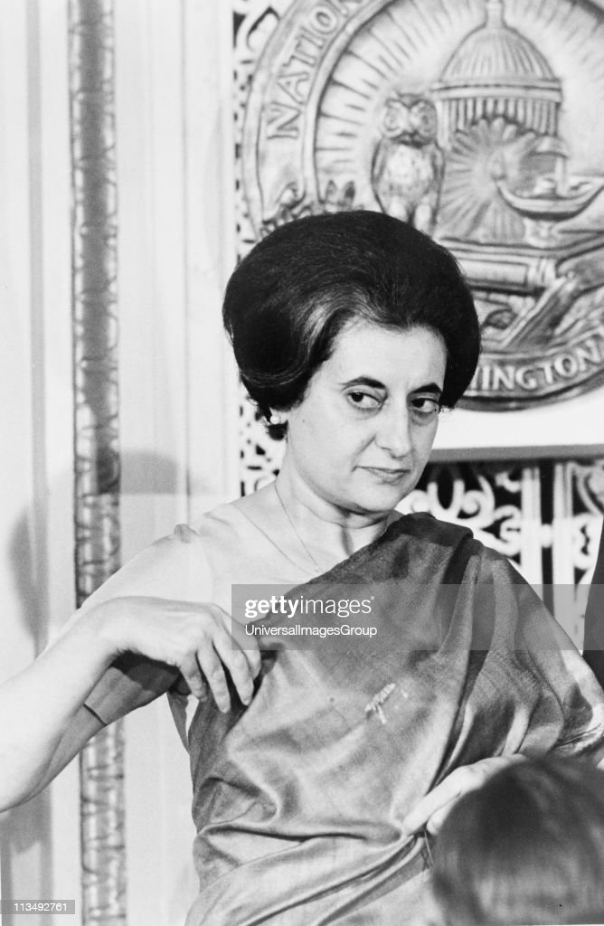 Indira Gandhi Prime Minister of India 19661977 and 19801984 Indian politician