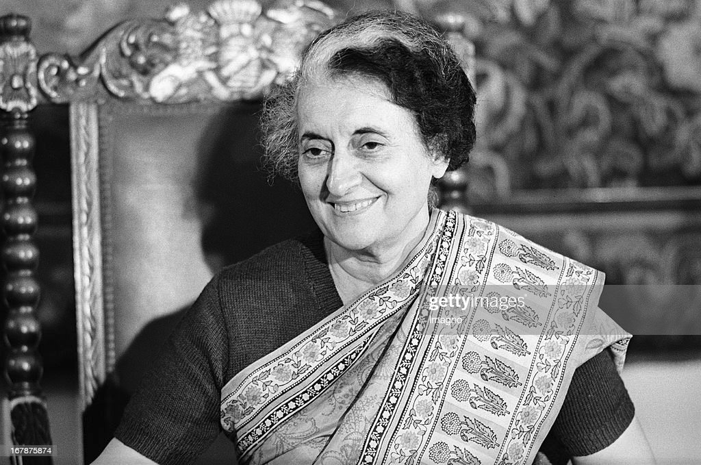 Indira Gandhi Prime Minister of India visiting Austria Hotel Imperial in Vienna 1983 Photograph by Nora Schuster Die Premierministerin Indiens Indira...