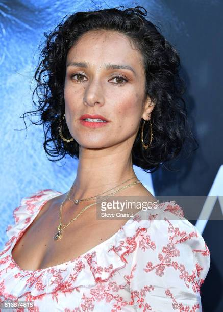 Indira Varma arrives at the Premiere Of HBO's 'Game Of Thrones' Season 7 at Walt Disney Concert Hall on July 12 2017 in Los Angeles California