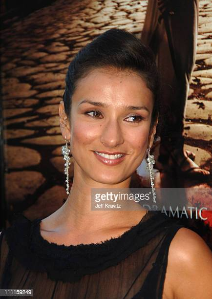 Indira Varma during HBO's 'Rome' Los Angeles Premiere Red Carpet at Wadsworth Theater in Los Angeles California United States