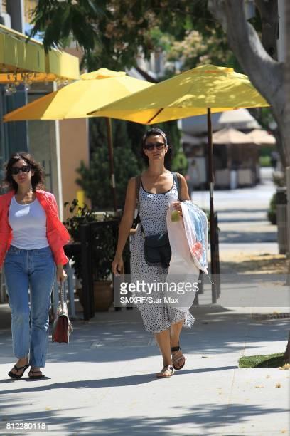 Indira Varma is seen on July 10 2017 in Los Angeles California