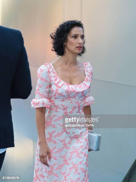 Indira Varma is seen on July 12 2017 in Los Angeles California
