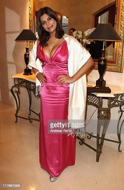 Indira Weis attends the Felix Burda Award Gala 2011 at Hotel Adlon on April 10 2011 in Berlin Germany