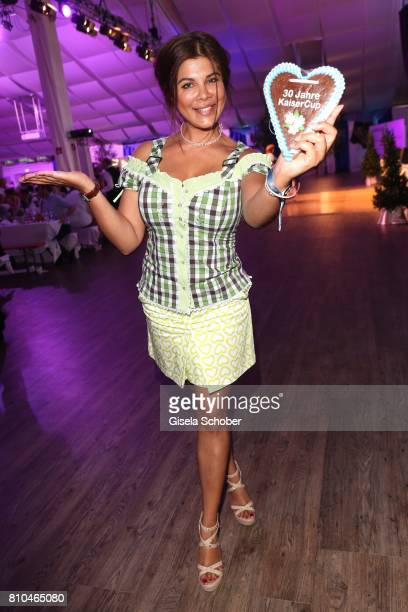 Indira Weis during a bavarian evening ahead of the Kaiser Cup 2017 at the Quellness Golf Resort on July 7 2017 in Bad Griesbach near Passau Germany
