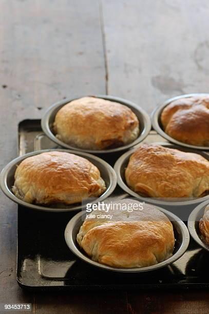 individual onion pies
