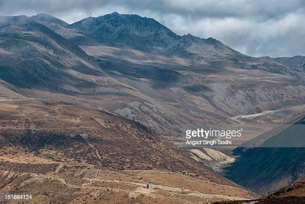 Indo-China border at Bumla