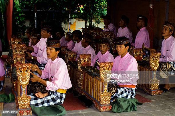 Indonesia Bali Gamelan Orchestra Gender Instruments