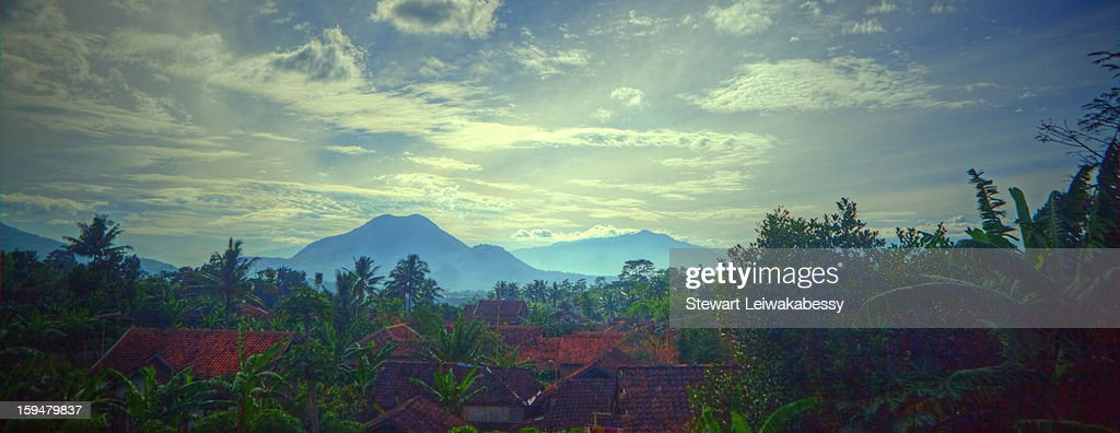 Indonesia - Java - Landscapes and Vistas - On the : Stock Photo