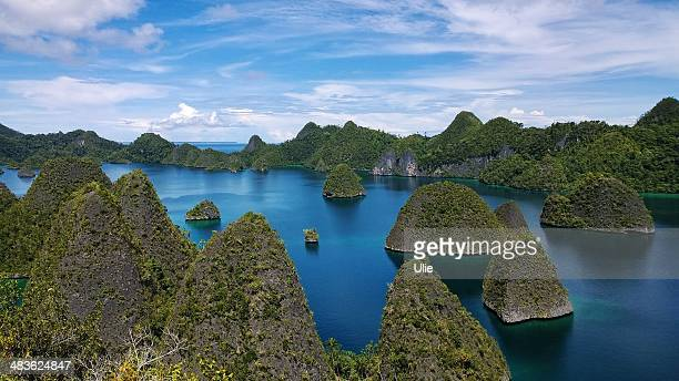 Indonesien, Papua-Neuguinea, West Papua, Raja Ampat, Wayag Island