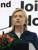 DUA Indonesia US Secretary of State Hillary Clinton speaks at a press conference in Bali Indonesia on July 24 after meeting with Indonesian Foreign...