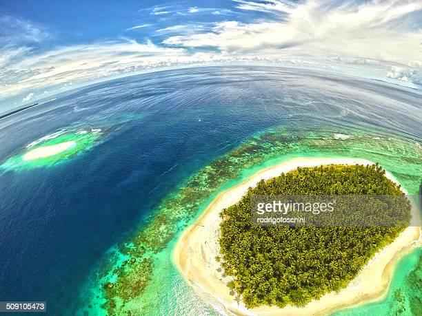 Indonesia, View of Mentawai Islands