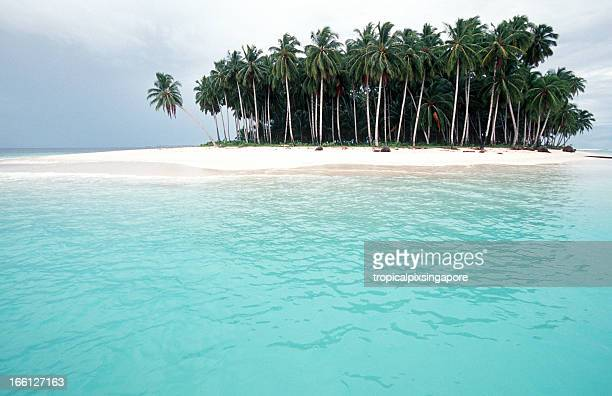 Indonesia, West Sumatra Province, Mentawai Islands, tropical island.