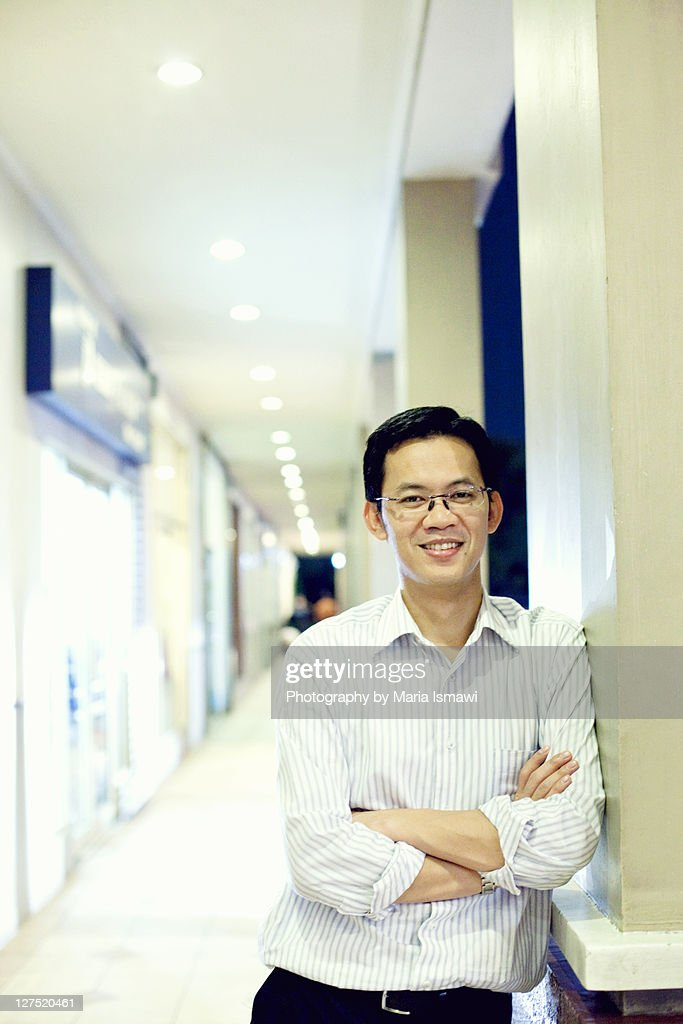 Indonesian business man : Stock Photo