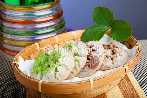 indonesian food carabikang pandan and chocolate stock photo thinkstock