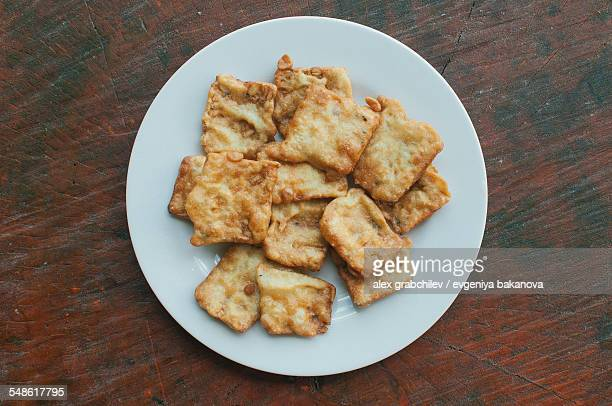 Indonesian Fried Tempeh
