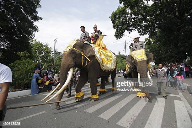 Indonesian Muslim students participate in Islamic New Year carnival in Banda Aceh Indonesia October 14 2015 The Islamic New Year is on the first day...