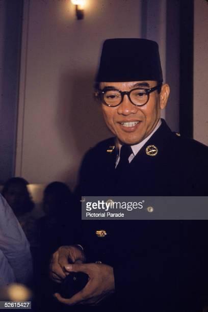Indonesian President Sukarno 1950s