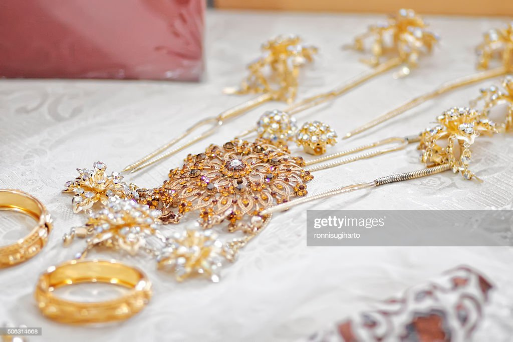 Indonesian Traditional Jewelry Stock Photo Thinkstock