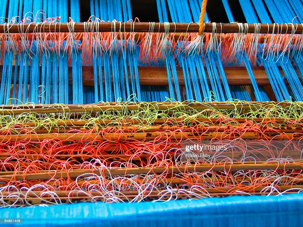 Indonesian weaving : Stock Photo