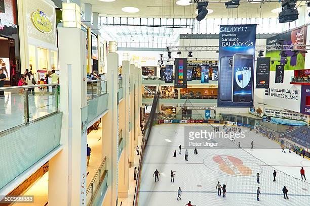 Indoor Ice skating Rink in the Dubai Mall