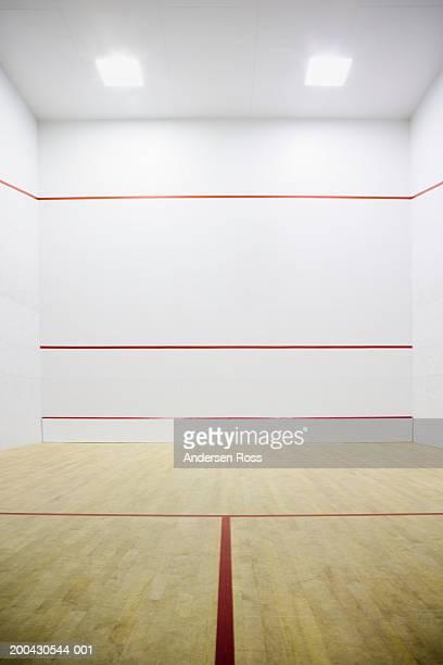 Indoor squash court
