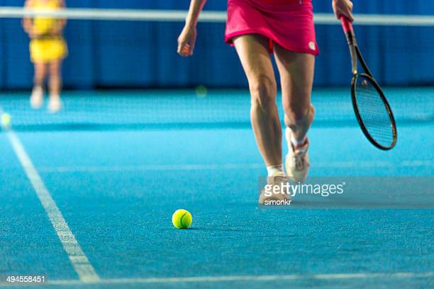 Giocatore di Tennis al coperto