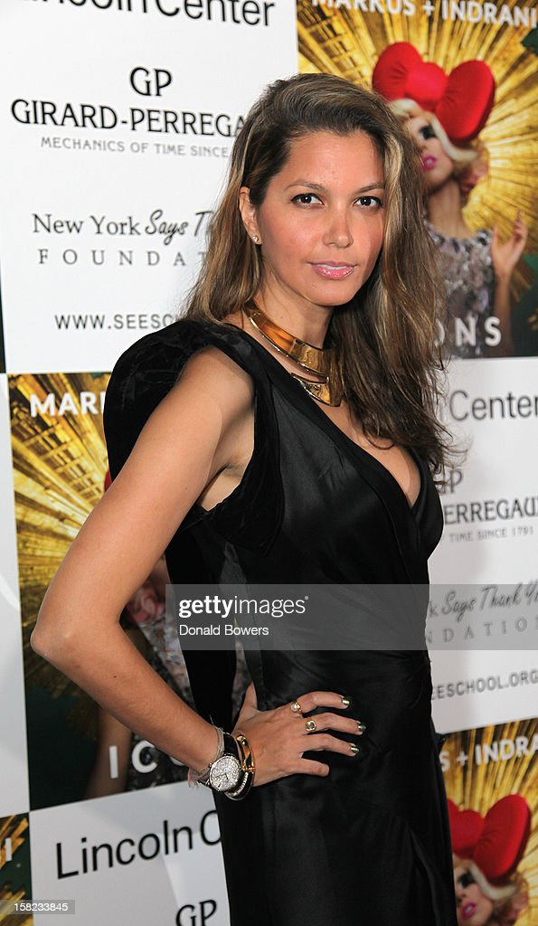 Indrani attends Markus + Indrani's 'ICONS' Launch Event and VIP Gala at Alice Tully Hall, Lincoln Center on December 11, 2012 in New York City.