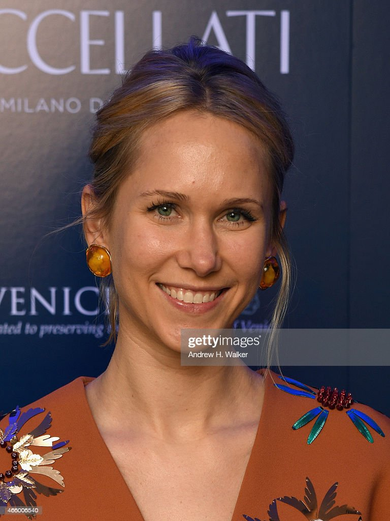 Indre Rockefeller attends Timeless Blue, Buccellati New York Flagship Opening Celebration on March 12, 2015 in New York City.