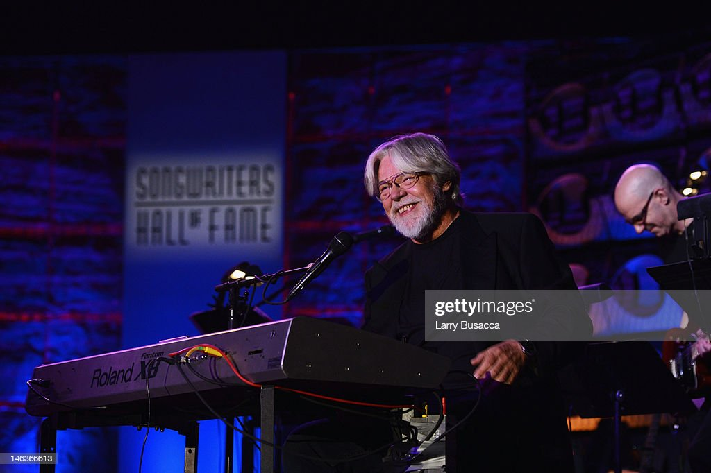 Inductee Bob Seger performs onstage at the Songwriters Hall of Fame 43rd Annual induction and awards at The New York Marriott Marquis on June 14, 2012 in New York City.