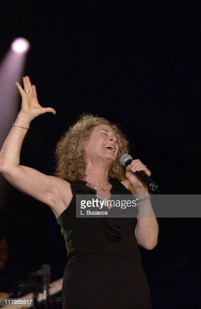 Inductee Carole King during Song Writers Hall of Fame Awards 2002 at Sheraton Hotel in New York City New York United States