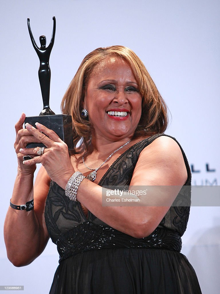 Inductee <a gi-track='captionPersonalityLinkClicked' href=/galleries/search?phrase=Darlene+Love&family=editorial&specificpeople=220743 ng-click='$event.stopPropagation()'>Darlene Love</a> attends the 26th annual Rock and Roll Hall of Fame Induction Ceremony at The Waldorf=Astoria on March 14, 2011 in New York City.