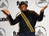 Inductee Jimmy Cliff attends the 25th Annual Rock And Roll Hall Of Fame Induction Ceremony at the Waldorf=Astoria on March 15 2010 in New York City