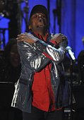 Inductee Jimmy Cliff performs onstage at the 25th Annual Rock and Roll Hall of Fame Induction Ceremony at the Waldorf=Astoria on March 15 2010 in New...