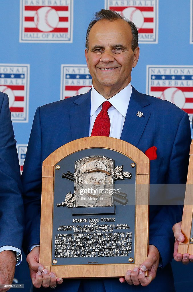 Baseball Hall Of Fame Induction Ceremony Getty Images