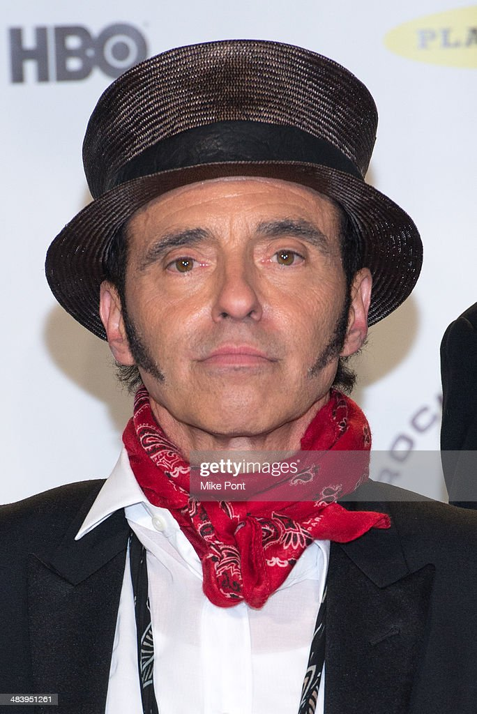 Inductee Nils Lofgren of the E Street Band attends the 29th Annual Rock And Roll Hall Of Fame Induction Ceremony at Barclays Center on April 10, 2014 in the Brooklyn borough of New York City.