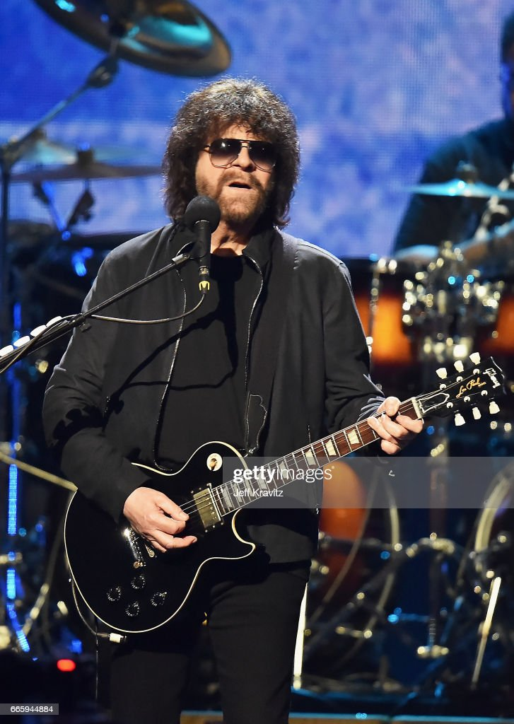 Inductee of ELO performs onstage at the 32nd Annual Rock & Roll Hall Of Fame Induction Ceremony at Barclays Center on April 7, 2017 in New York City. The event will broadcast on HBO Saturday, April 29, 2017 at 8:00 pm ET/PT