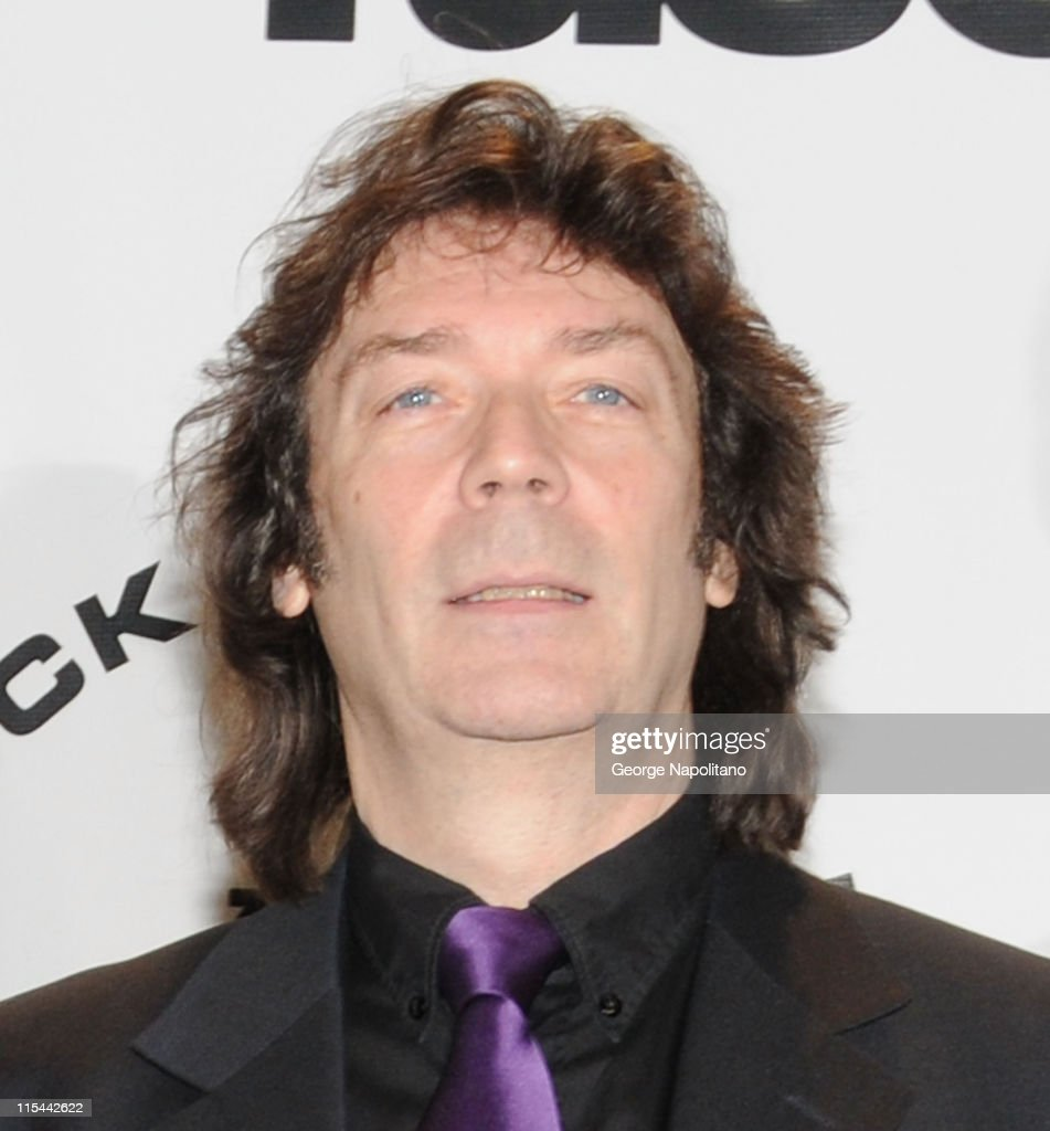Inductee Steve Hackett of Genesis attends the 25th Annual Rock And Roll Hall Of Fame Induction Ceremony at the Waldorf=Astoria on March 15, 2010 in New York City.