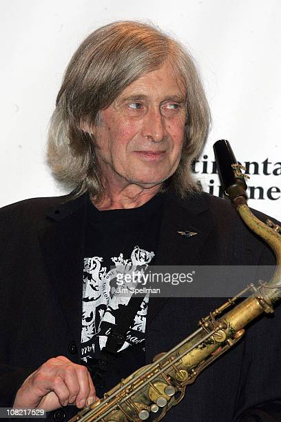 Inductee Steve Mackay of The Stooges attends the 25th Annual Rock and Roll Hall of Fame Induction Ceremony at Waldorf=Astoria on March 15 2010 in New...