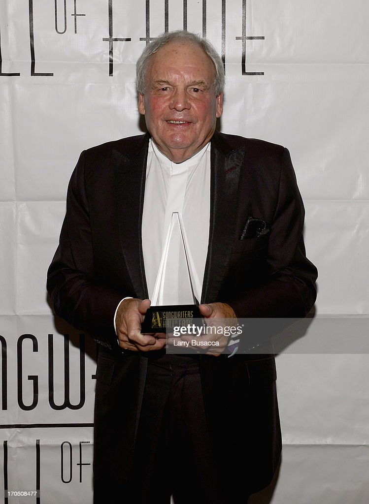 Inductee Tony Hatch attends the Songwriters Hall of Fame 44th Annual Induction and Awards Dinner at the New York Marriott Marquis on June 13, 2013 in New York City.