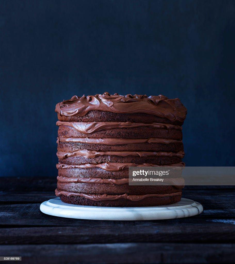 Indulgent Layered Chocolate Cake