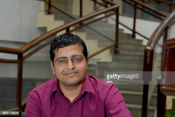Indus Khaitan Partner at Morpheus venture Partners photographed during an interview with Mint