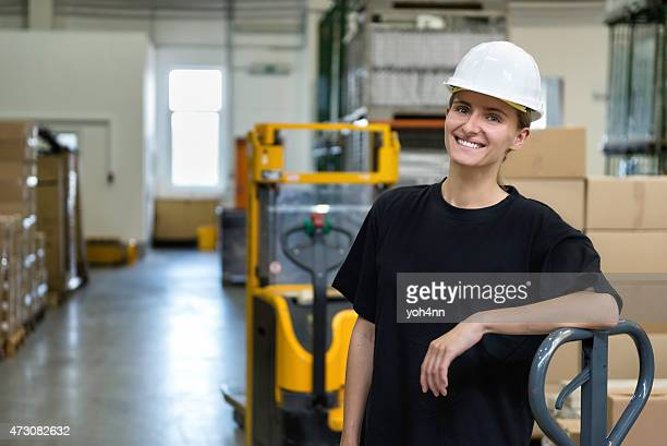 Industial laborer woman