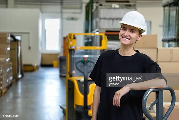Industial Arbeiter Frau