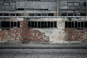 Empty grunge urban background with copt space