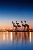 Industrial Cargo Dock