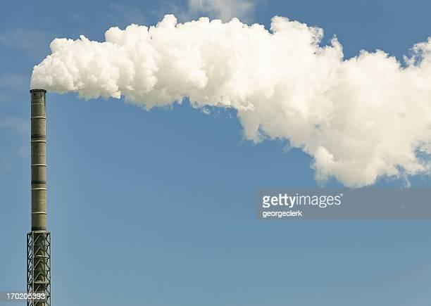Industrial Chimney Effluent