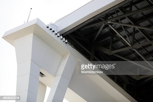 Industrial construction building section : Stock Photo