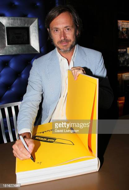 Industrial designer Marc Newson attends the launch party for TASCHEN's 'Marc Newson Works' at TASCHEN on September 8 2012 in Beverly Hills California
