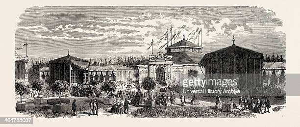 Industrial Exhibition At Chaumont Haut Marne France 1865
